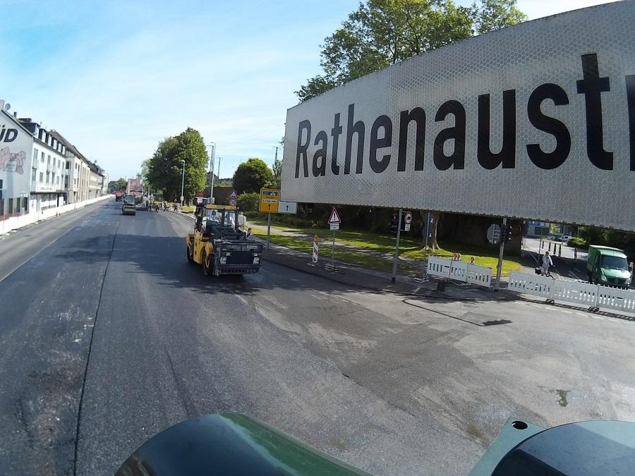 Deckensanierung Rathenaustraße Sonntag 11 Uhr