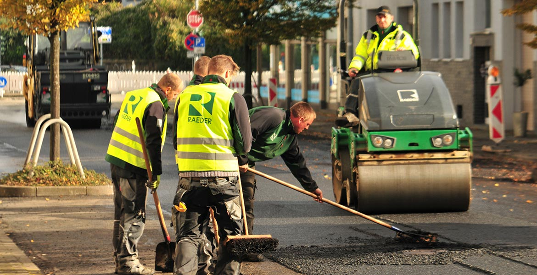 Raeder - Ausbildungsberuf Straßenbauer