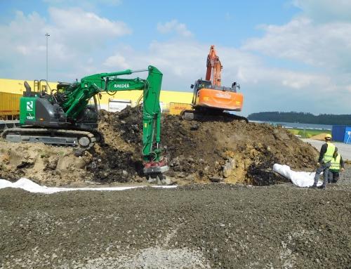 Logistikzentrum Malsfeld – Herstellen einer Ausweichfläche